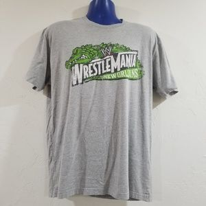 Official WrestleMania New Orleans Comfy Shirt
